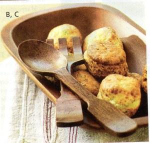 Bowl of rolls