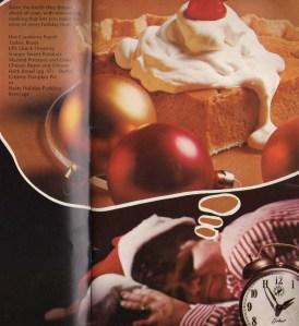 Pillsbury boy dreaming of pumpkin pie