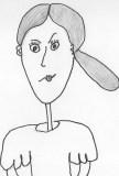 The Drawing Lady, Linda Vernon Humor