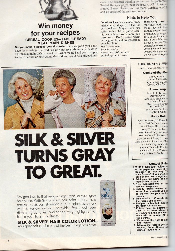 Silk & Silver turns gray to great