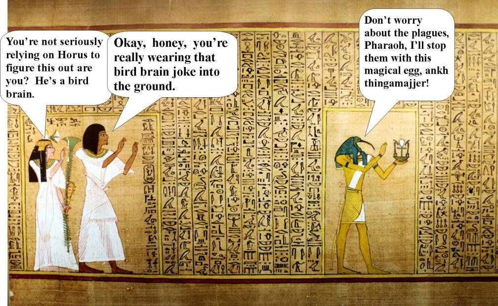 Horus the egyptian god