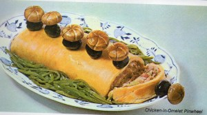 The mushroom duck and cover roll Linda Vernon Humor