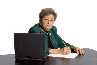 mean dr. office receptionist Linda Vernon Humor