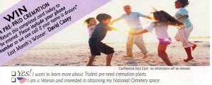 Win a free cremation! Linda Vernon Humor
