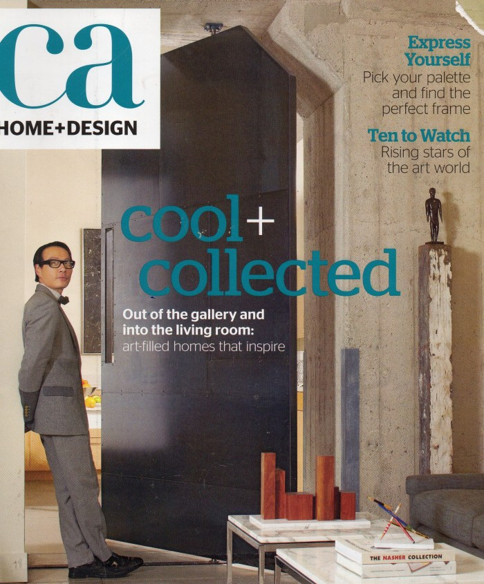 CA home + design Magazine humorous commentary Linda Vernon Humor