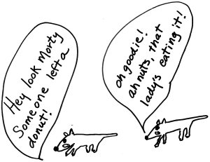 rat cartoon ilustration linda vernon humor