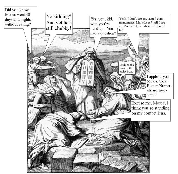 The Bible According to Gregary Linda Vernon Humor