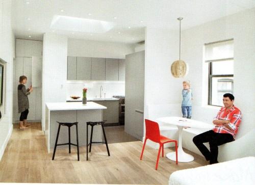 family living minimalistically