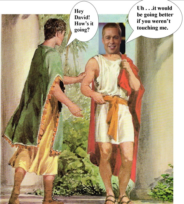 David and King Saul the Bible according to Gregory