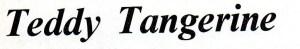 Teddy Tangerine