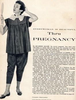 1953 magazine humorous commentary, Linda Vernon Humor