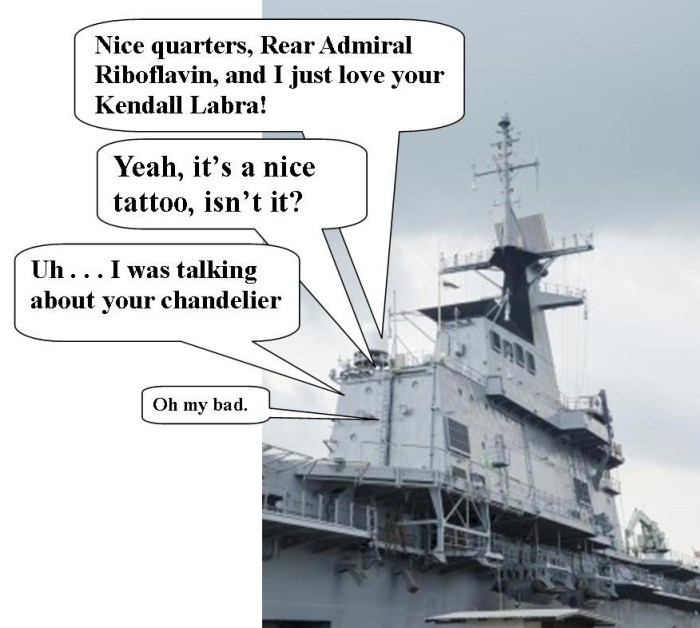 Rear Admiral Battleship