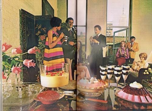 slightly creepy seventies Jello, Linda vernon humor