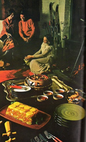 Slightly Creepy Seventies Jello Linda Vernon Humor