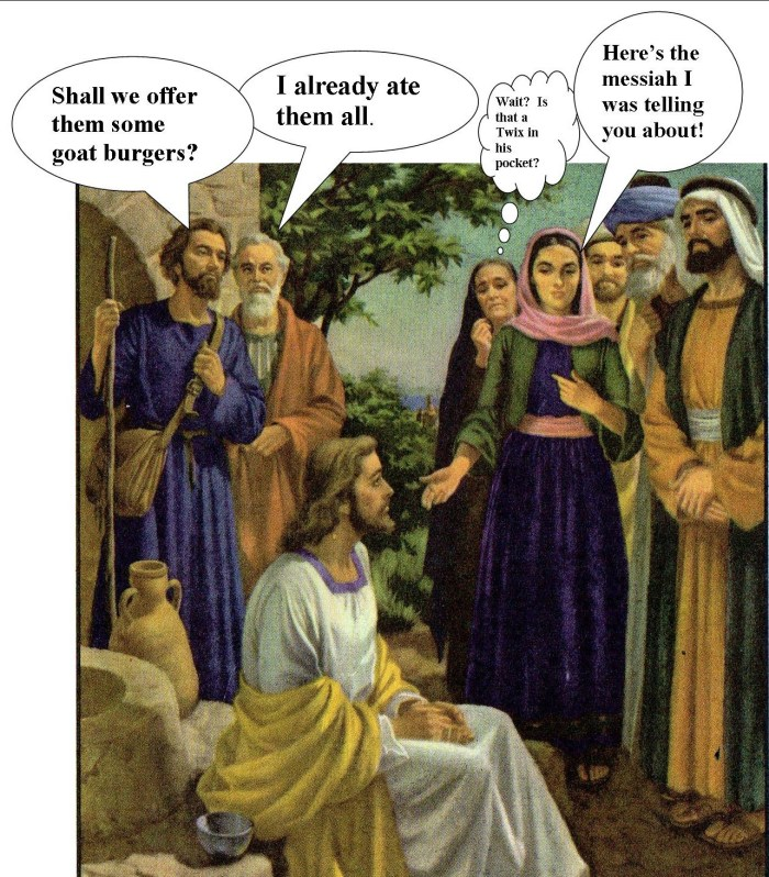 The bible acording to Gregory, Linda Venron Humor