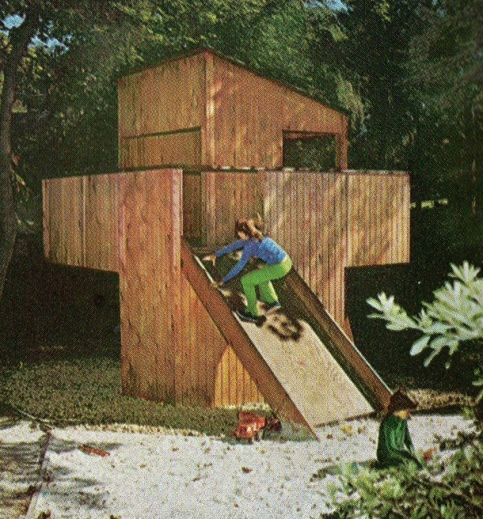 Seventies Ourdoor Play Structure