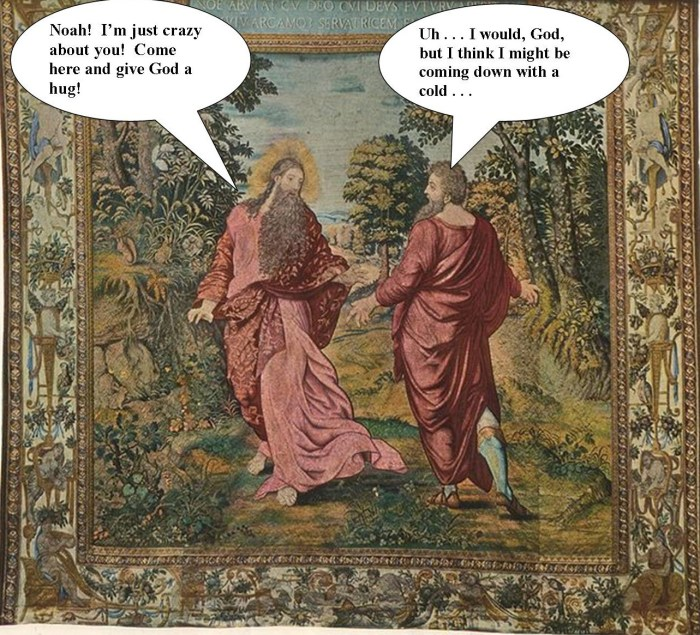 Noah and God
