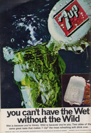 a 1967 ad for 7-up