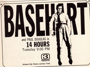 1967 TV Guide Richard Basehart Ad