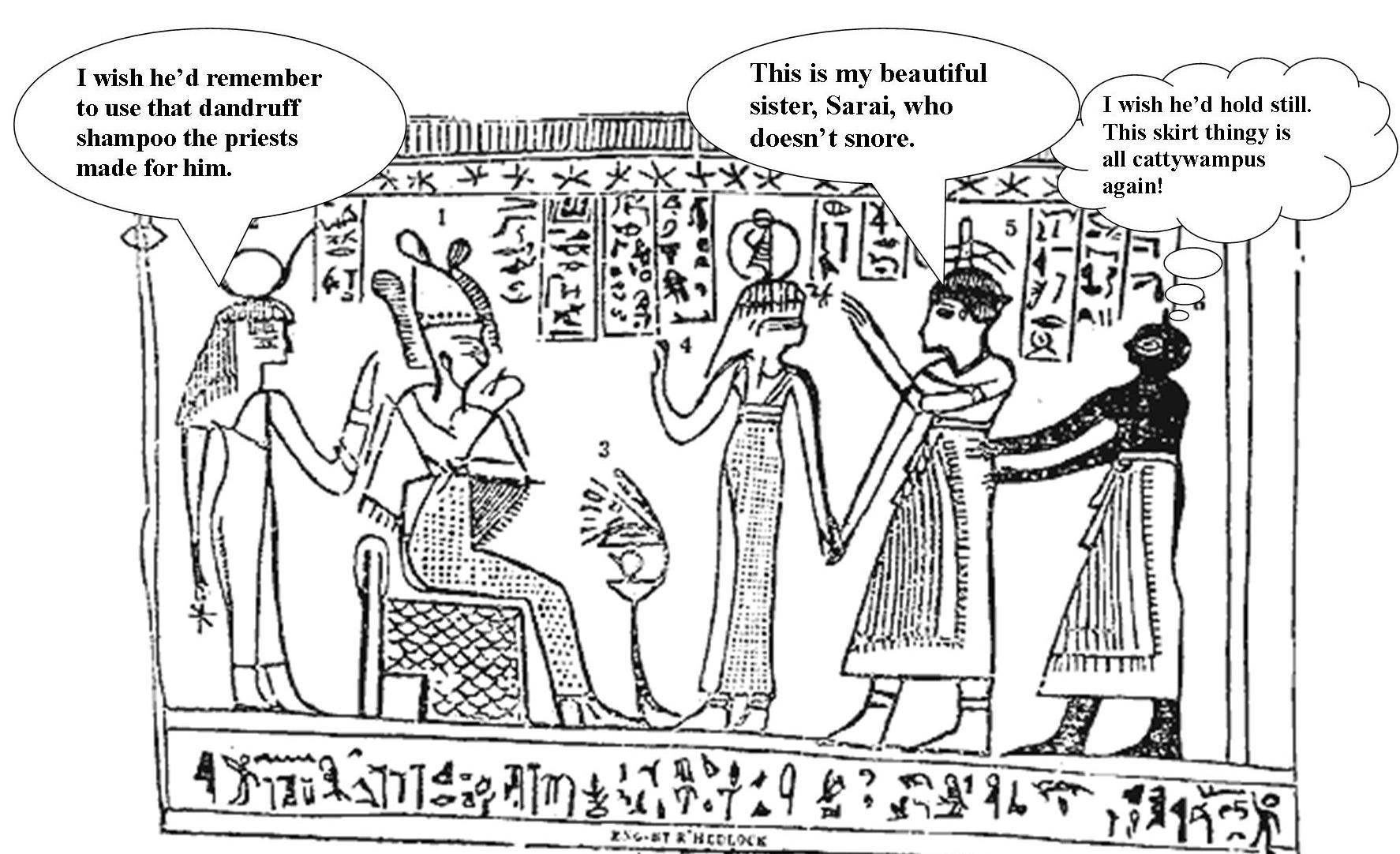 Abram And The King Of Egypt