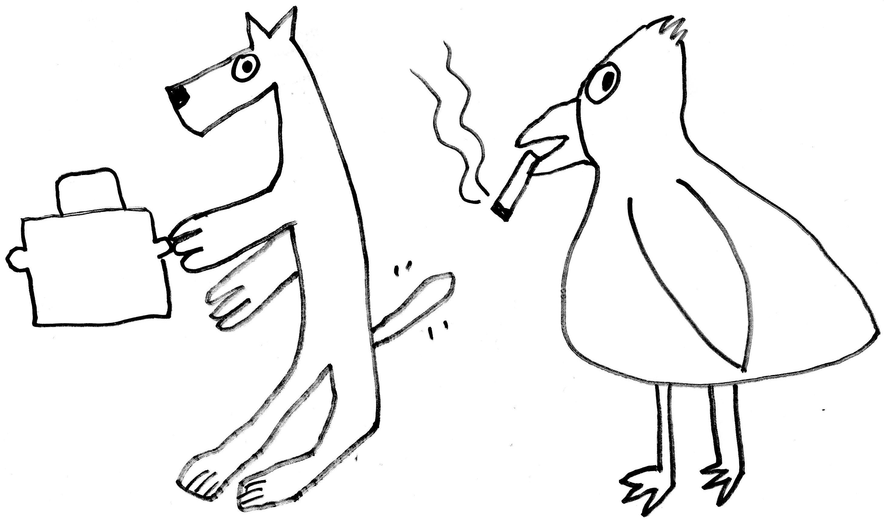 Kids no smoking coloring pages