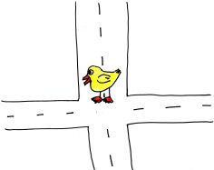The Crossroads of my duck Linda Vernon humor