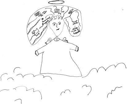 Arianna Slippington in heaven