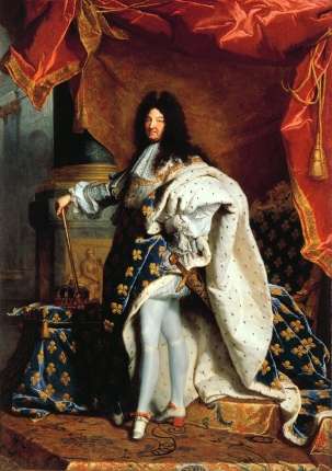 Louis_XIV_of_France by Rigaud