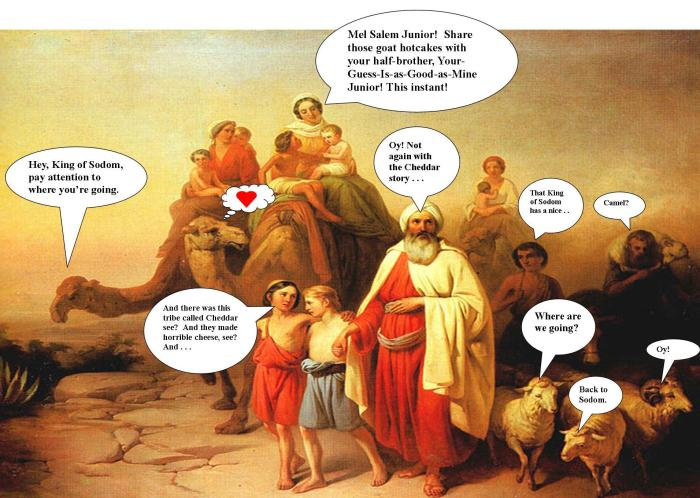 The Journey back to Sodom
