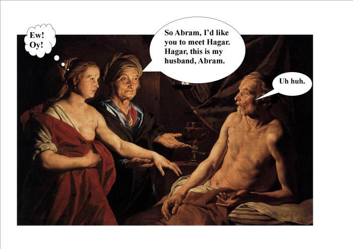 Abram Sarah and Hagar