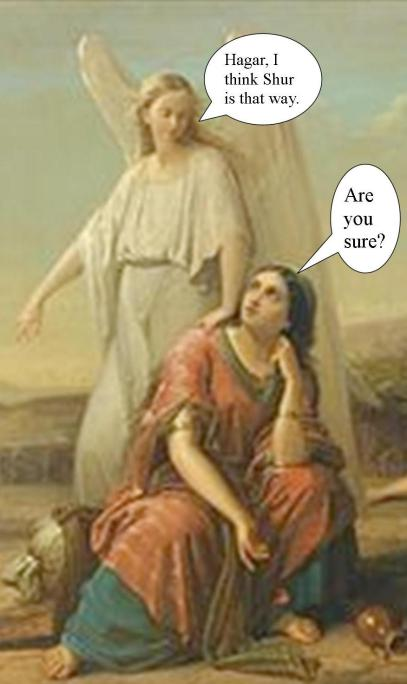 Hagar and the Angel of the Lord
