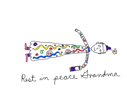 grandma cartoon