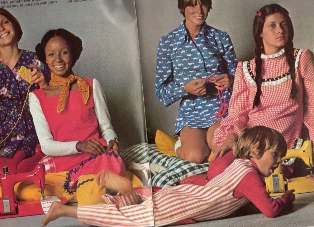 Seventies teens