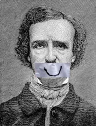 Edgar Allan Poe Smiling