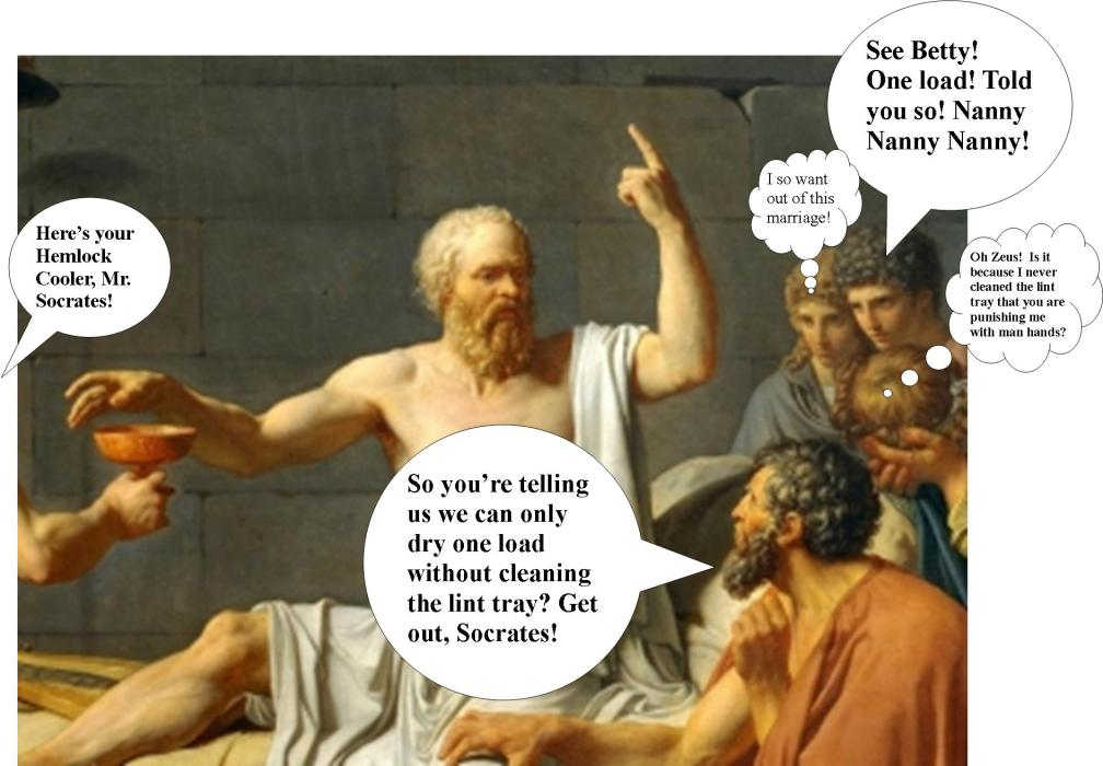 Socrates weighs in on lint