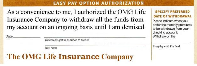 OMG Life Insurance