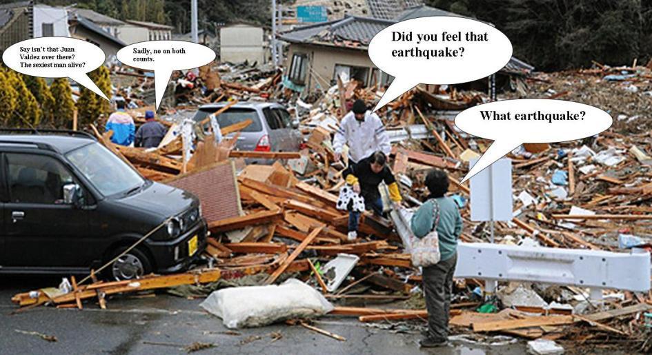 earthquake Juan Valdez