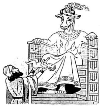 Baal Baby Sacrificingt