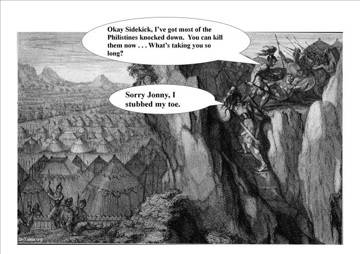 Jonathan's Daring Deed